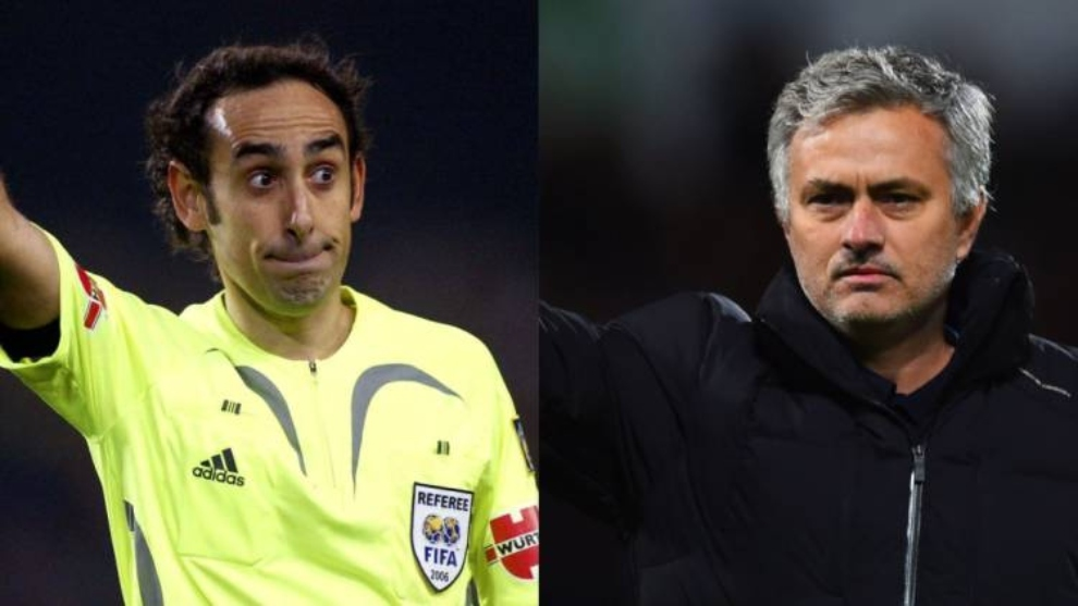 """Iturralde y su conversación con Mourinho tras el 5-0: """"Aquí hay un gallo y no eres tú, soy yo"""""""