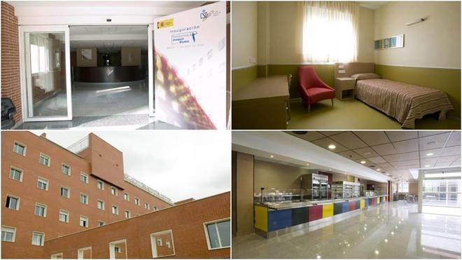 Instalaciones de la Residencia Blume de Madrid.