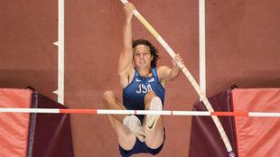 Cole Walsh, en el Mundial de Doha.