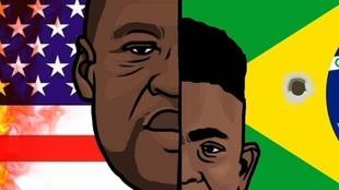 """Vinícius y Rodrygo: """"Las vidas negras importan"""""""