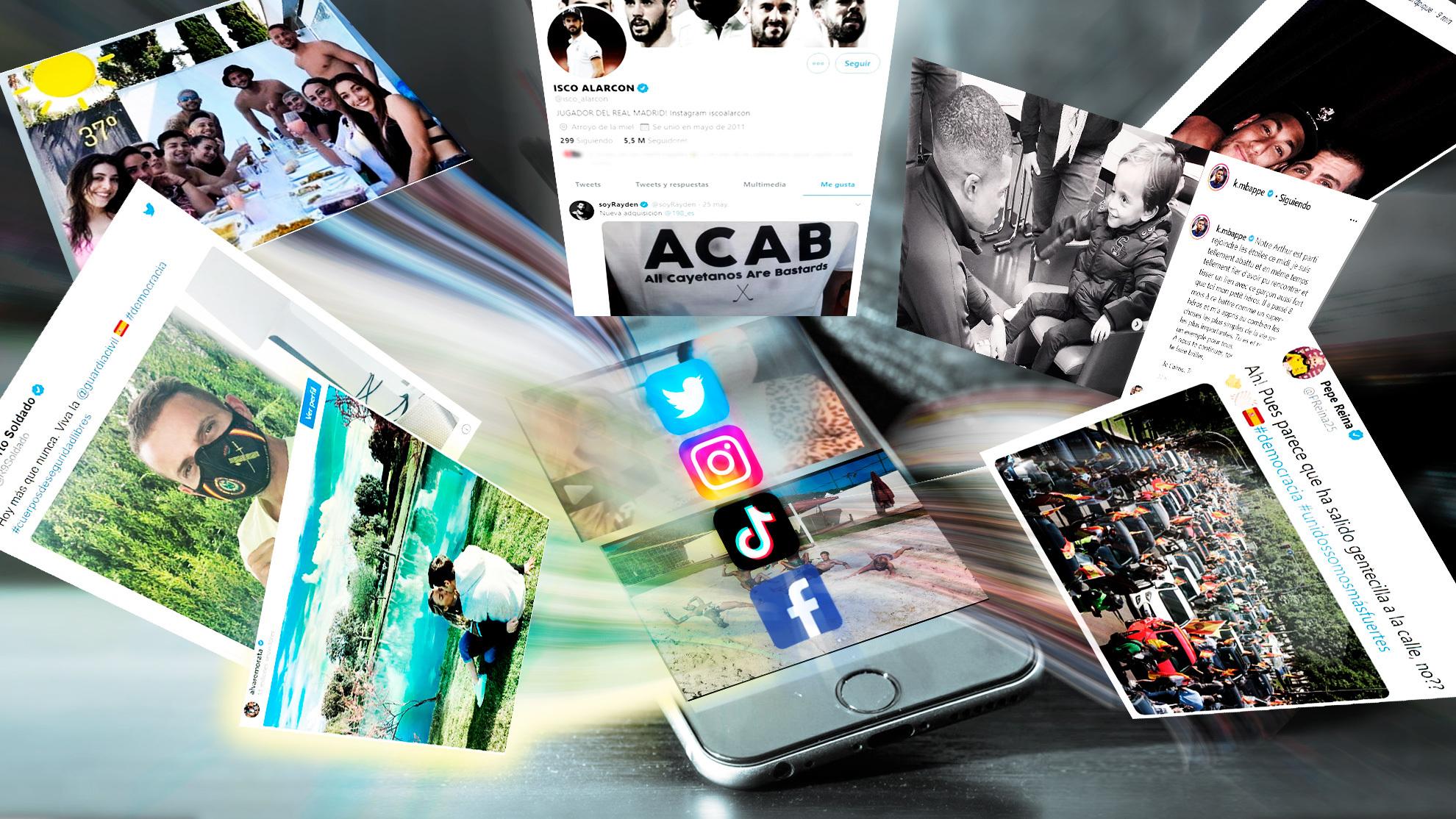 Estrellas y redes sociales: Tácticas para el éxito y golazos en propia puerta