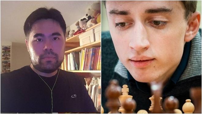 Así fue la segunda partida de la final entre Hikaru Nakamura y Danil Dúbov