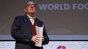Jaume Roures, en un acto de la LaLiga.