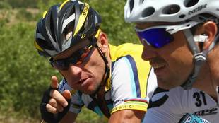 """Armstrong: """"¿Sastre ha ganado el Tour? Entonces yo podía volver y ganarlo"""""""