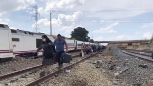 Accidente de tren en Zamora: varios muertos en el descarrilamiento de...