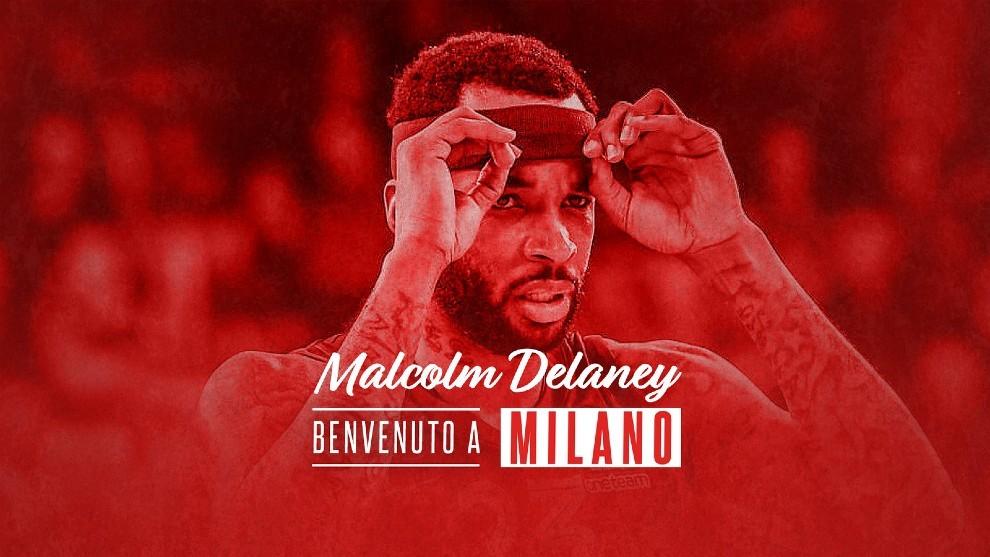 Golpe en la mesa del Armani Milán: ¡Ficha a Malcolm Delaney!