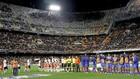 Imagen del Valencia-Levante del pasado mes de enero