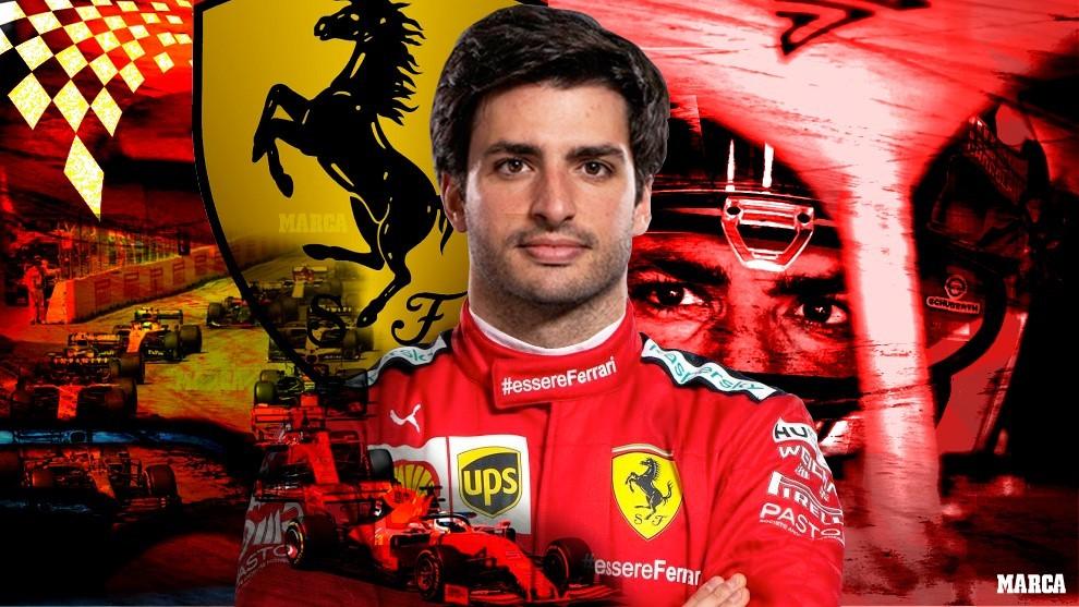 "Sainz: ""Yo no he firmado como segundo piloto de Ferrari y lo daré todo para ganar"""