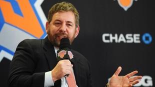 James Dolan, propietario de los Knicks.