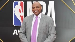 Charles Barkley, durante un acto de la NBA.