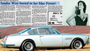 Dejó escrito en su testamento que quería uno de sus bonitos Ferrari...