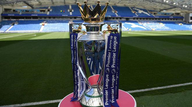 El trofeo de la Premier.