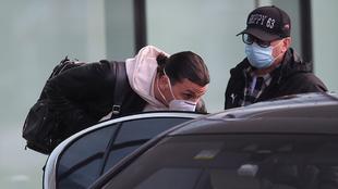 Zlatan en su regreso a Italia.