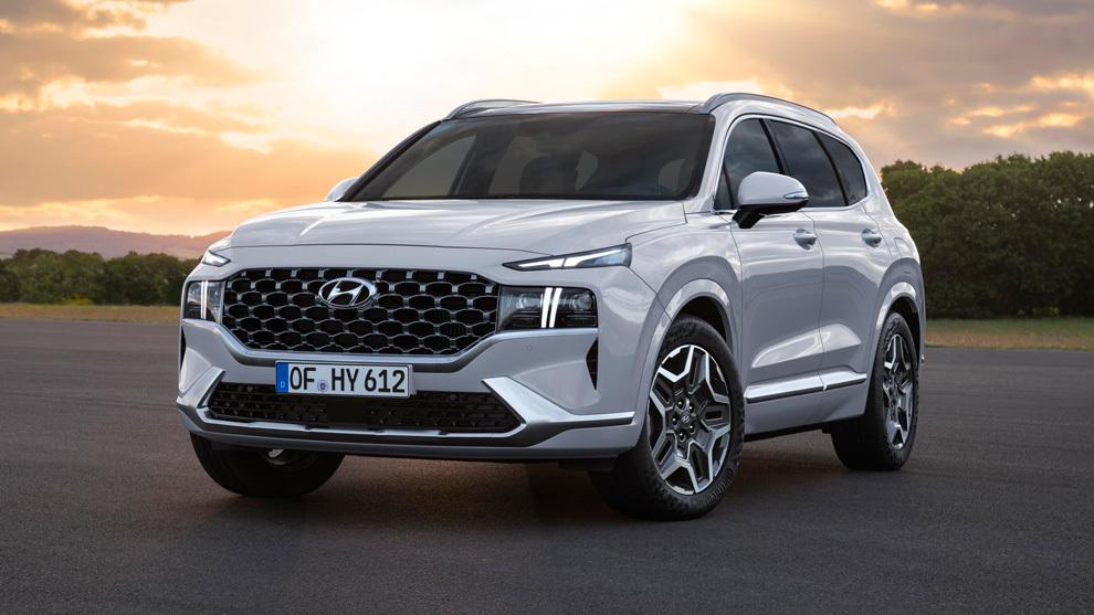 Hyundai Santa Fe 2021: los motores híbridos son su nueva religión