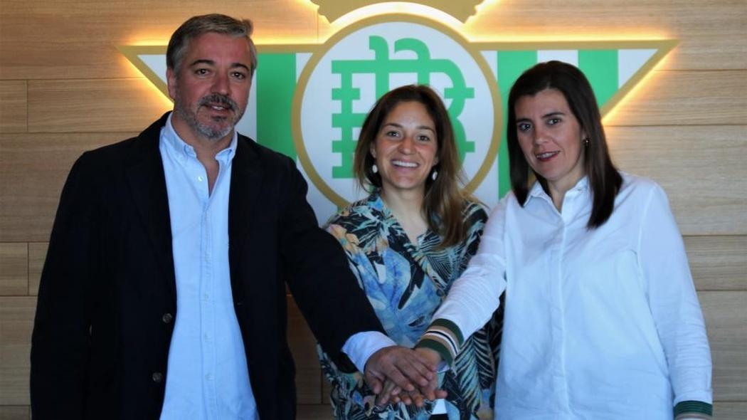 Ana Romero 'Willy' presentada como secretaria técnica del Betis.