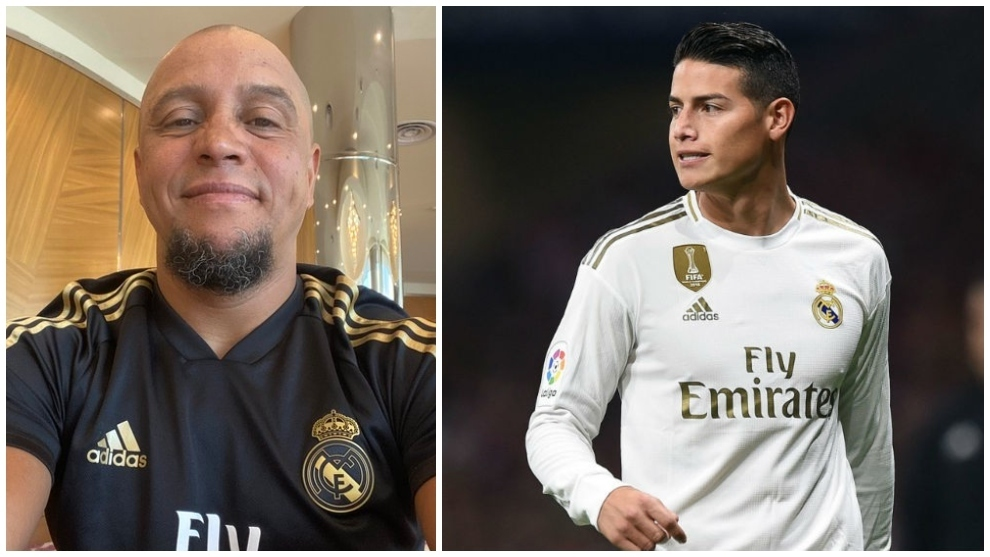 Roberto Carlos: I urge James Rodriguez to be patient, Zidane respects him