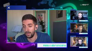 """Broncano desvela a Ibai Llanos su entrevista más difícil en La Resistencia: """"Iba un poco cagao"""""""