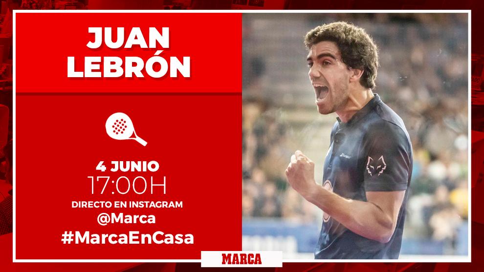 "Juan Lebrón: ""Con Galán sentí desde el primer momento que todo fluía"""