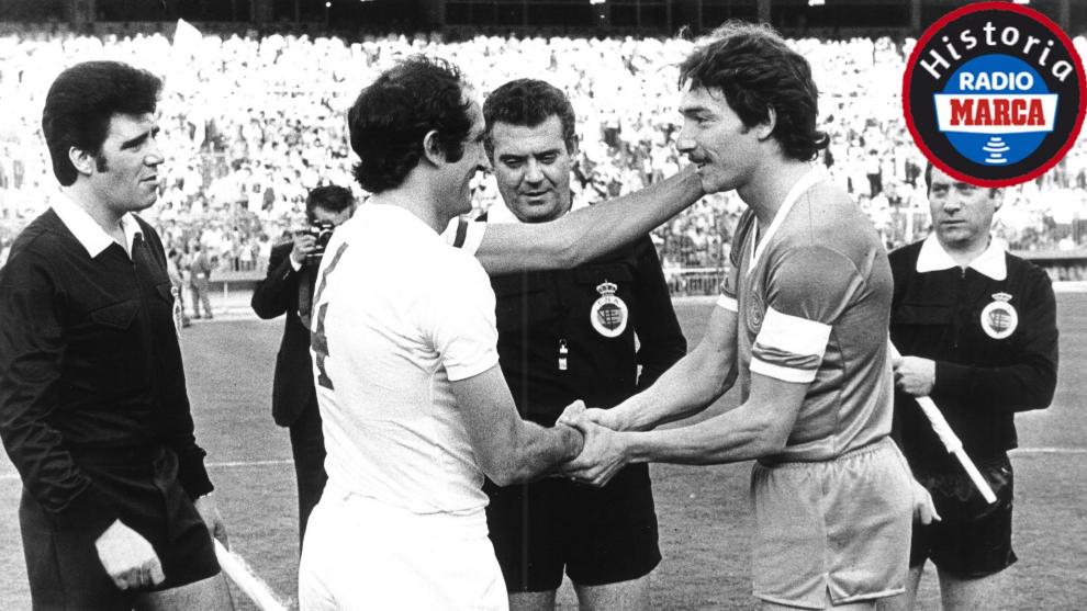 Los capitanes de Real Madrid y Castilla rememoran un a Final de Copa insólita
