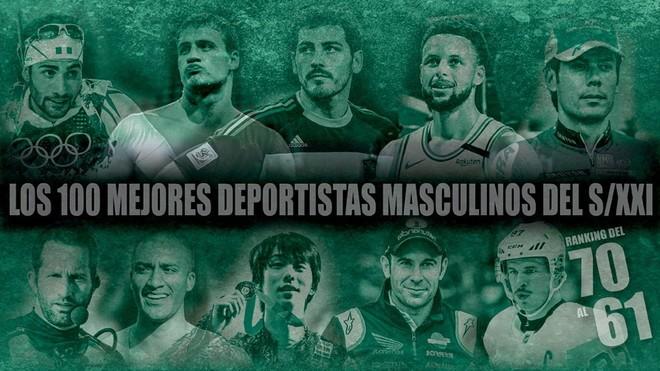 Del 70 al 61: Casillas, Freire, Toni Bou, el 'atleta 10' y un francotirador implacable
