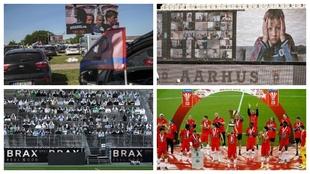 El fútbol como nunca lo habías visto: 'Zoom', 'Drive-in', realidad aumentada...