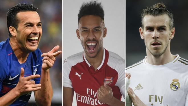 Pedro, Aubameyang y Bale, algunos de los nombres de hoy del mercado de...