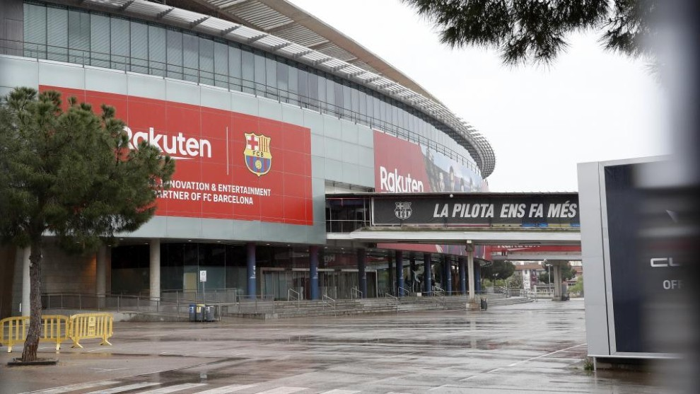 Barcelona to play pre-recorded hymn sung by fans against Leganes