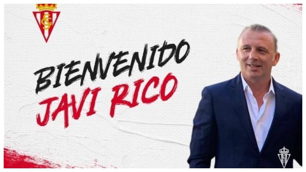 Javi Rico, director deportivo del Sporting, ya trabaja en Mareo de...