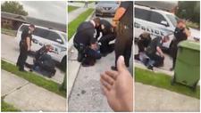 Un policía es investigado tras poner su rodilla en el cuello de un detenido
