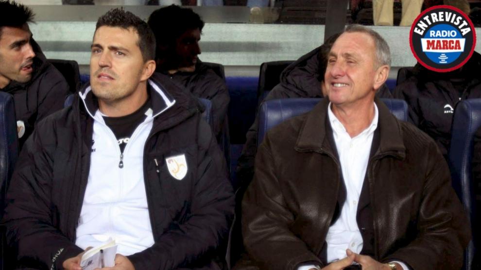 """Óscar García: """"¿Estilo Cruyff? Esa manera de jugar te ayuda a ganar"""""""