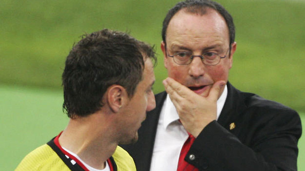 The day when Dudek almost punched Benitez in the face
