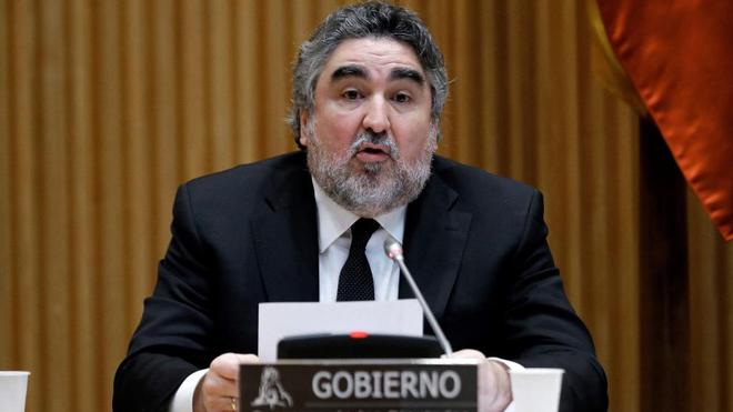 El ministro de Cultura y Deporte, José Manuel Rodríguez Uribes,...