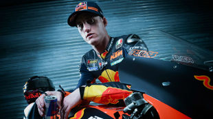 Pol Espargaró, con KTM Red Bull.