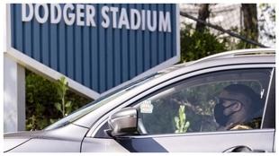 El Dodger Stadium, donde juega el equipo franquicia de Los Ángeles
