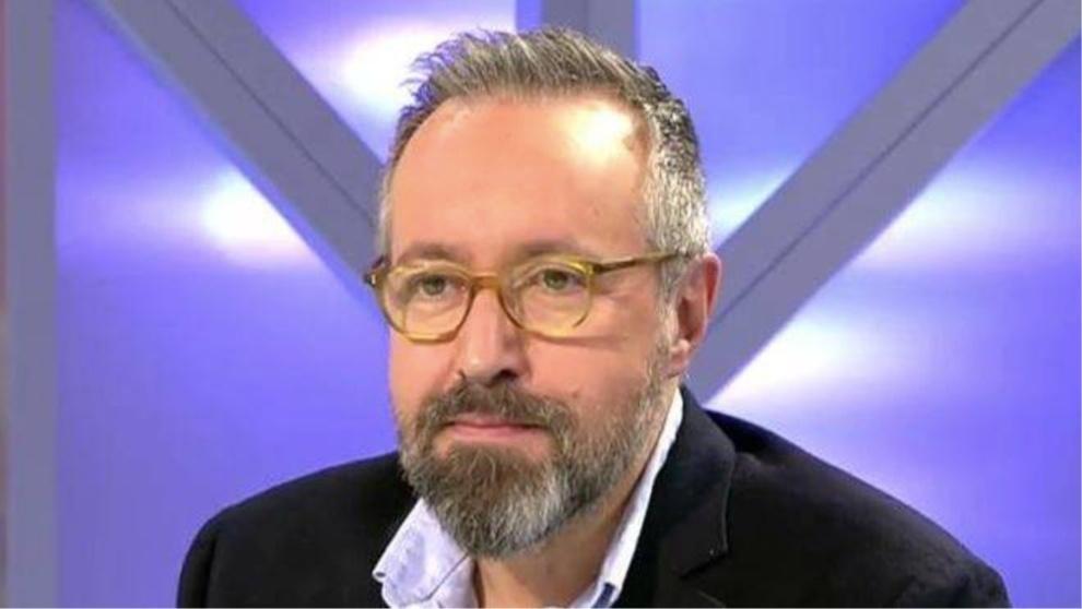 Juan Carlos Girauta, en una aparición en televisión, ha vuelto a...