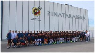Imagen de las instalaciones de Pinatar Arena, en Murcia, tras el...
