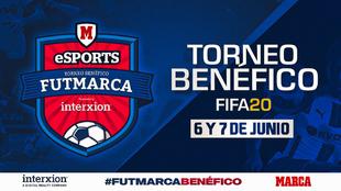 Logo del torneo FUTMARCA Benéfico