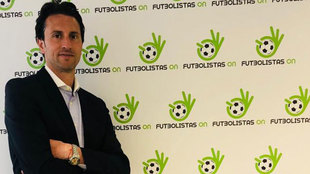 Juanjo Martínez, presidente de Futbolistas On