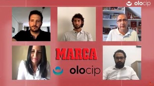 El webinar reunió a Esteban Granero, Víctor Orta, Juan ignacio...