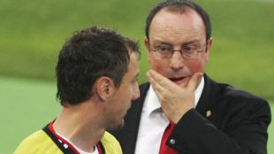 Dudek y Benítez fueron campeones de Europa con el 'Spanish Liverpool.
