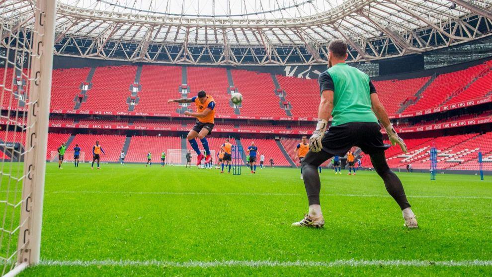 El Athletic ya entrenó el pasado miércoles en San Mamés. Ese día...