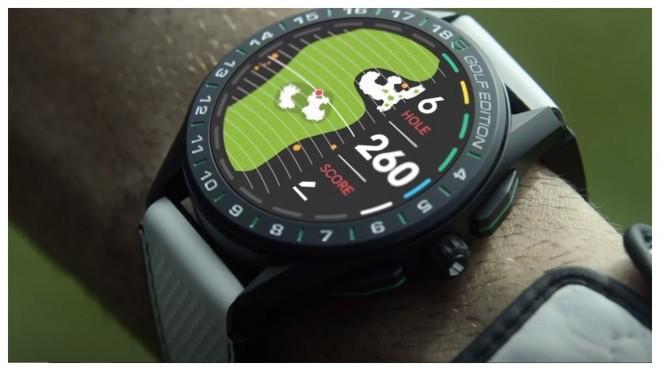 El reloj de golf lanzado por Tag Heuer