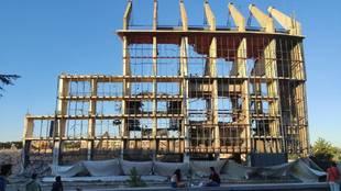 Imagen del estado actual del estadio Vicente Calderón