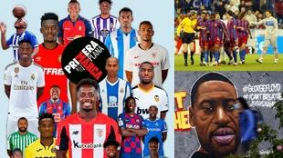 """El racismo en LaLiga: """"Hablé con un jugador negro de cada equipo y lo tenían claro"""""""