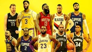 El 'top 15' de la temporada NBA: Doncic está entre los 10 mejores