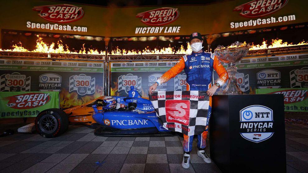 Scott Dixon, primer líder de la Indycar 2020.
