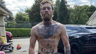 Conor McGregor en su casa hace tres días.