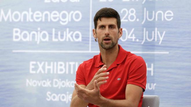 Novak Djokovic enferma de COVID-19 tras participar en el Adria Tour