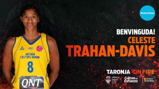 Así ha anunciado el Valencia Básquet el fichaje de Trahan-Davis