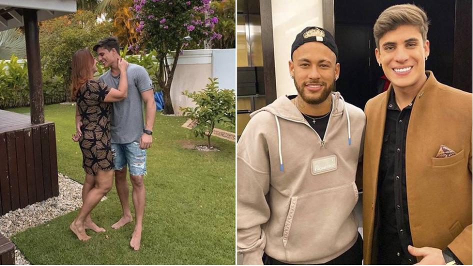 Tiago Ramos habría roto una ventana a puñetazos tras discutir con la madre de Neymar